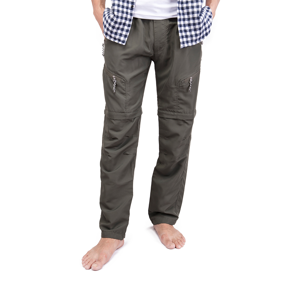 US-MENS-CONVERTIBLE-PANTS-QUICK-DRY-ZIP-OFF-SHORTS-OUTDOOR-HIKING-TROUSERS-S-3XL thumbnail 7