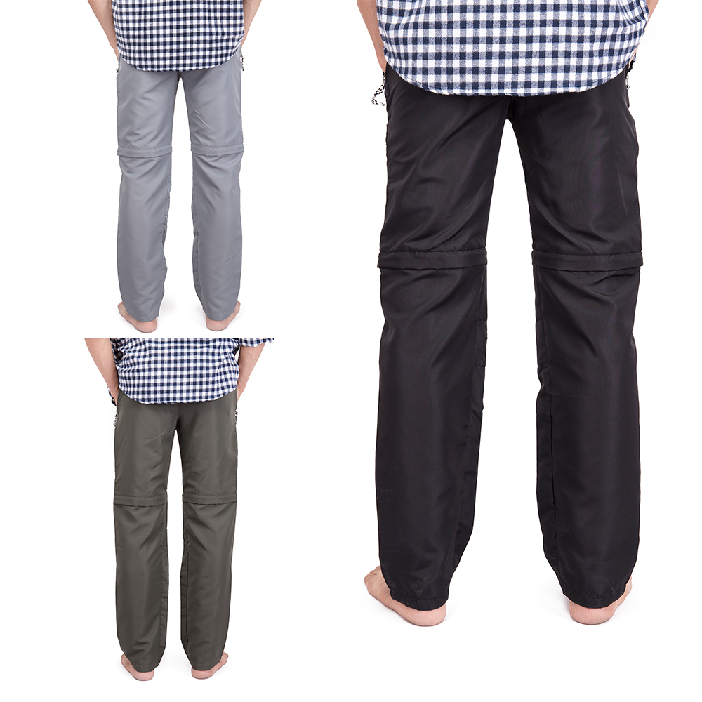 US-MENS-CONVERTIBLE-PANTS-QUICK-DRY-ZIP-OFF-SHORTS-OUTDOOR-HIKING-TROUSERS-S-3XL thumbnail 9