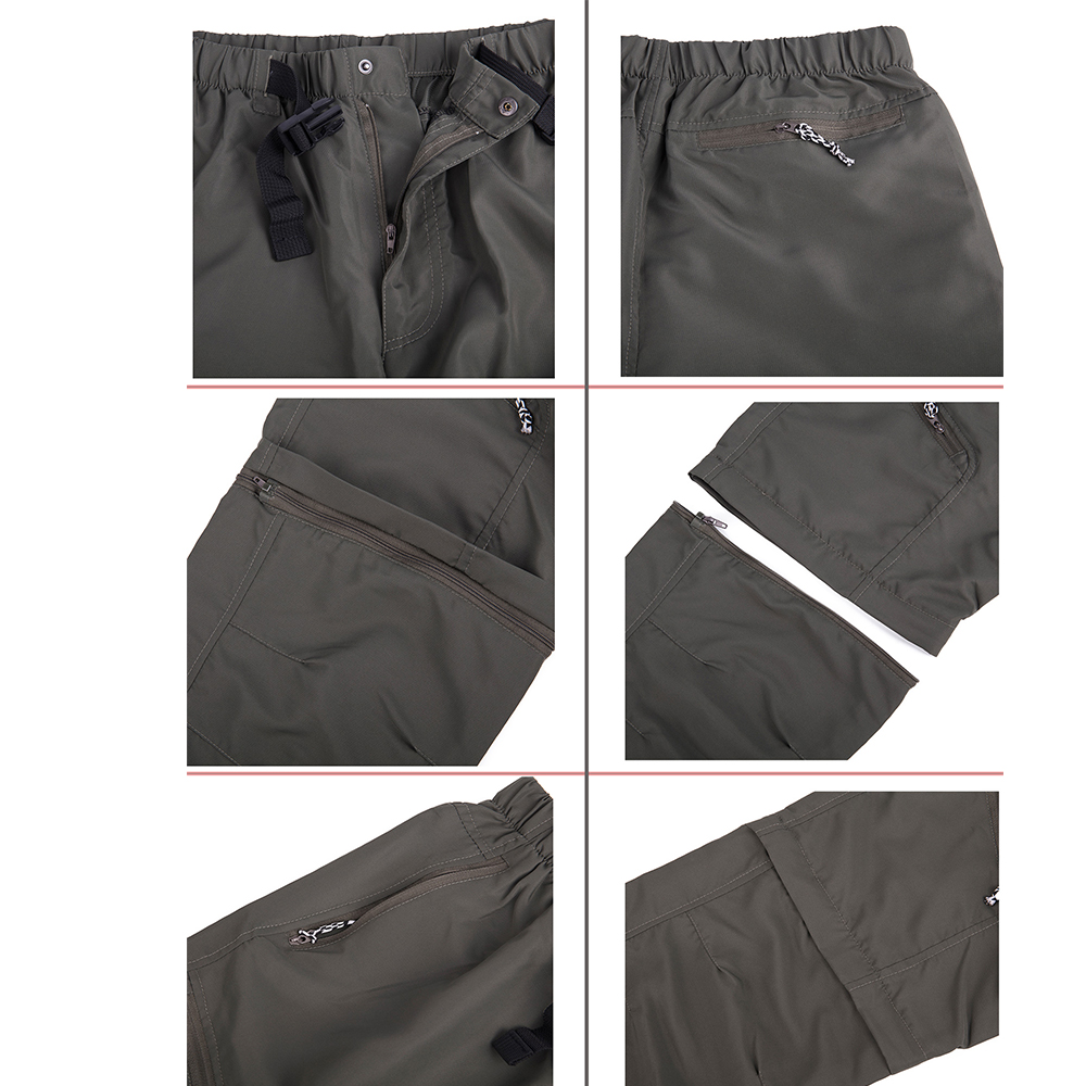 US-MENS-CONVERTIBLE-PANTS-QUICK-DRY-ZIP-OFF-SHORTS-OUTDOOR-HIKING-TROUSERS-S-3XL thumbnail 10