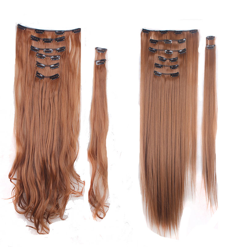Us fashion clip in hair extensions synthetic full head look as us fashion clip in hair extensions synthetic full pmusecretfo Choice Image