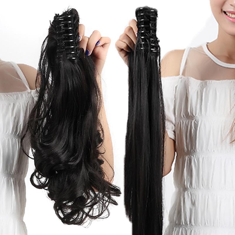 Claw Clip Natural Hair Half Pony