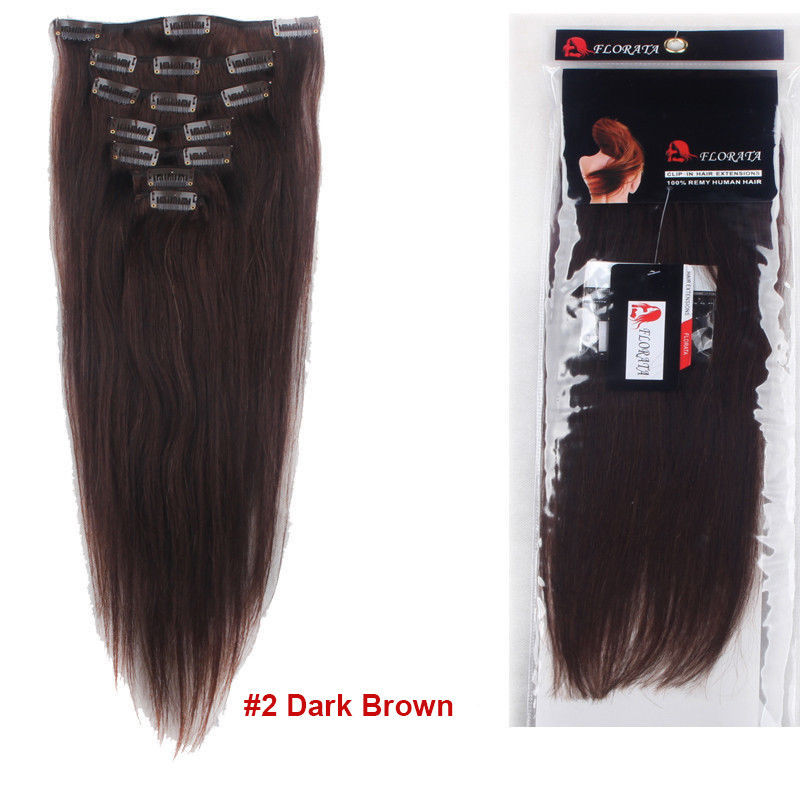True Grade Aaaaaa 100 Real Good Clip In Remy Human Hair Extensions