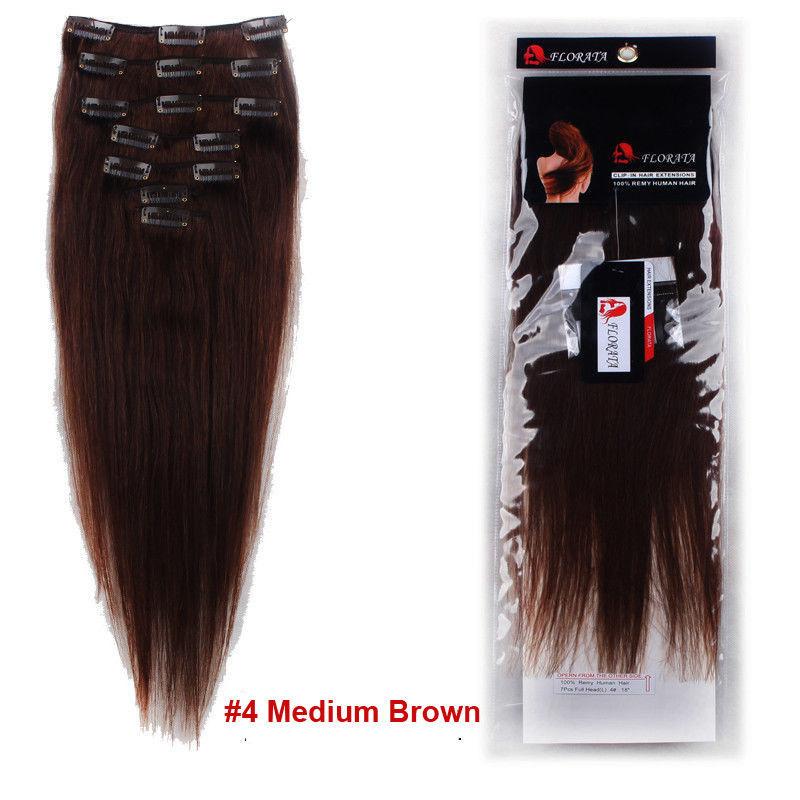 True Grade Aaaaaa 100 Real Good Clip In Remy Human Hair Extensions