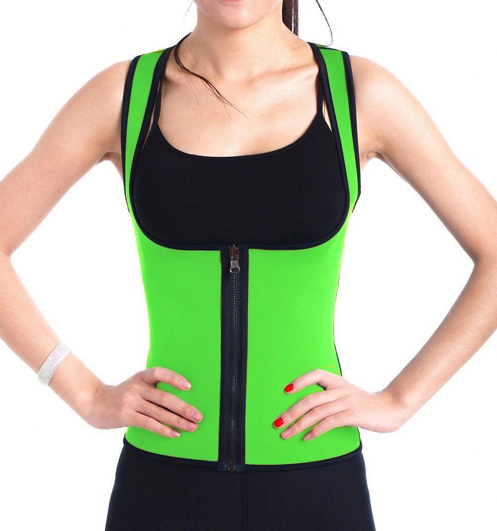 508990a70675a Hot Sales Waist Training Corset Vest Women Zip Up Slimming Body Shaper  Waistband