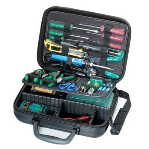 Pro Skit 1pk 710ka Basic Electronic Tool Kit Full Range