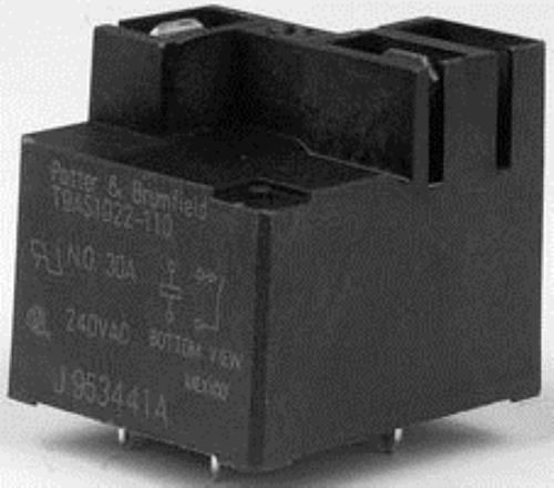 POTTER /& BRUMFIELD//TE T9AS1D22-24 POWER RELAY SPST-NO 24VDC 30A PC BOARD