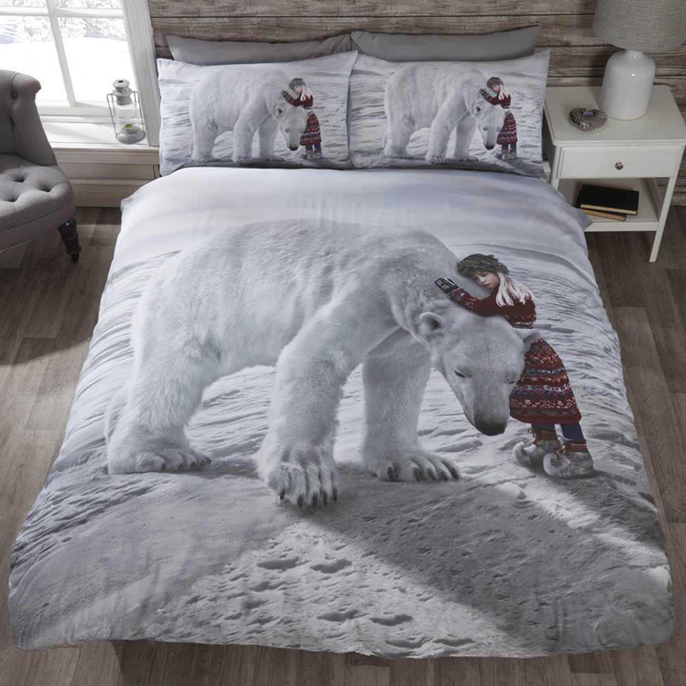 parure de lit coton polyester m lang motif sur le th me des f tes de no l ebay. Black Bedroom Furniture Sets. Home Design Ideas