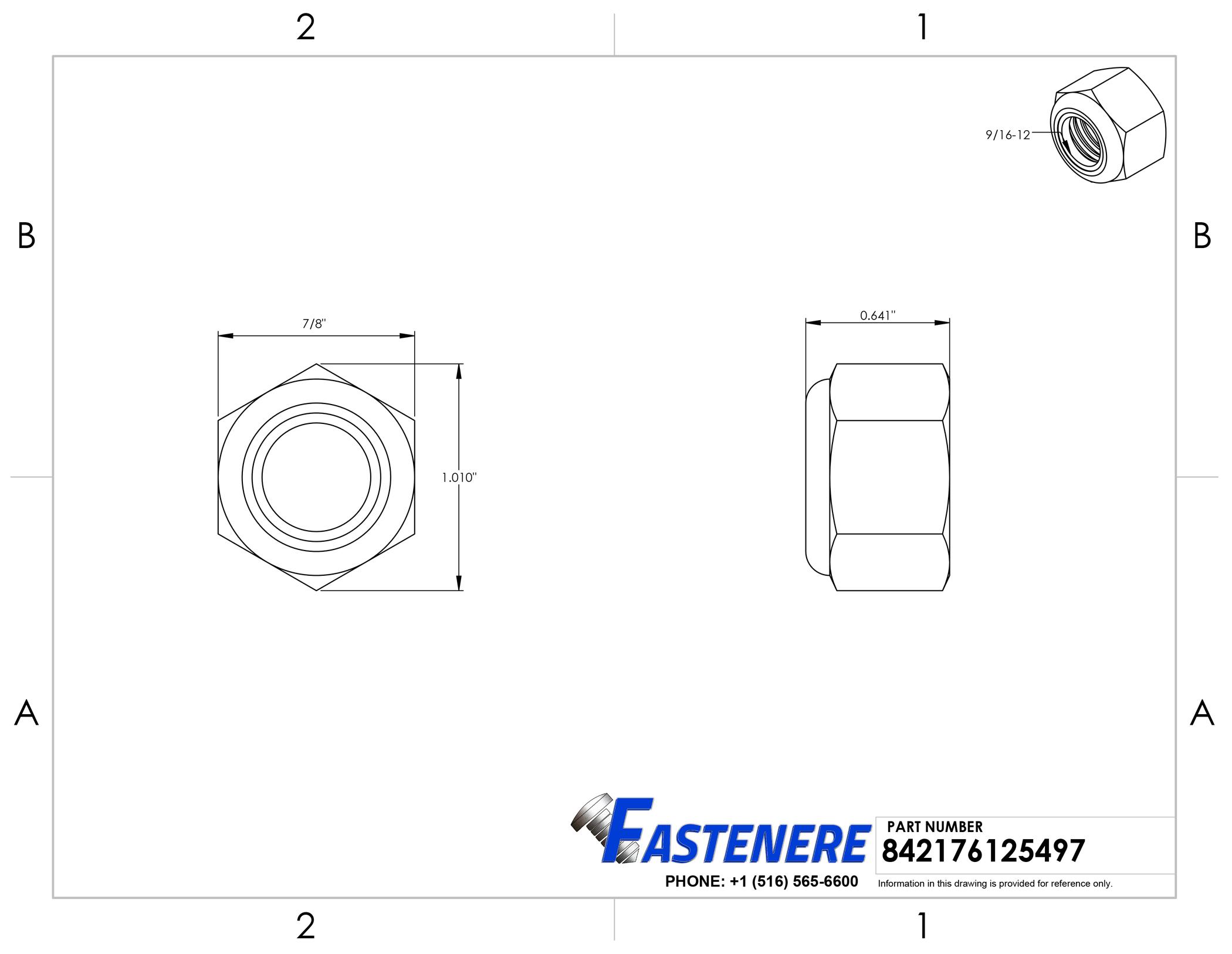 Qty 100 5//16-18 Stainless Steel Nylon Insert Lock Hex Nut UNC Nylock