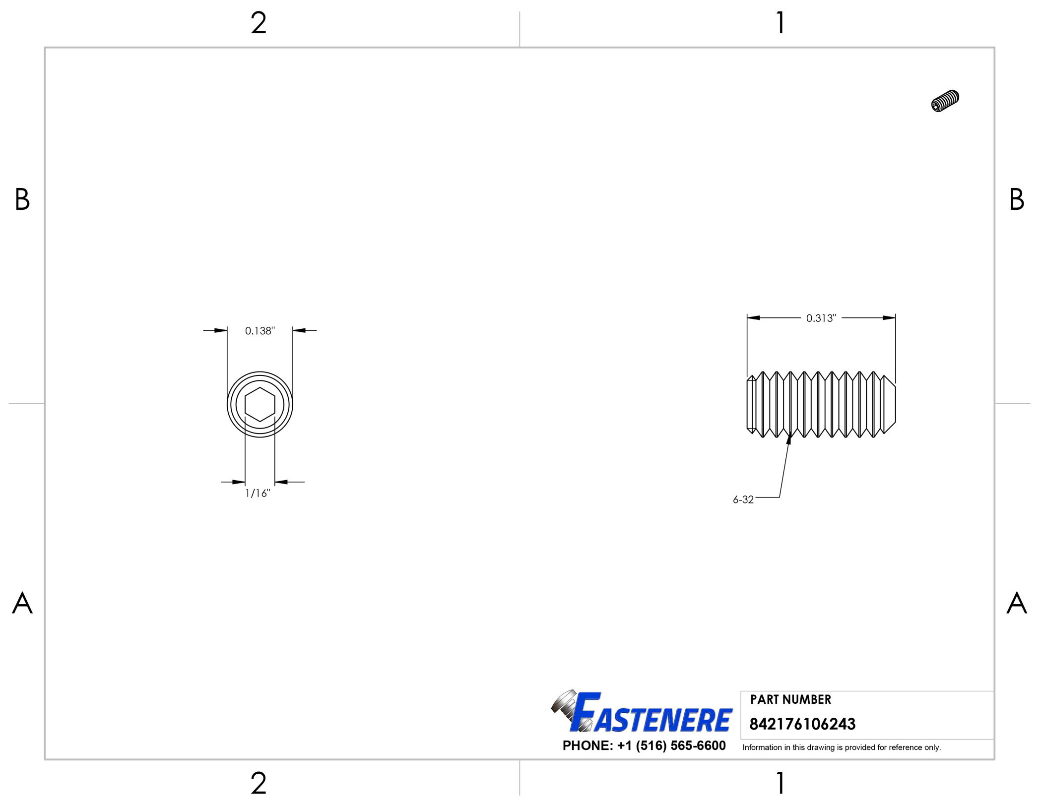 6-32-Socket-Set-Screws-Allen-Hex-Drive-Cup-Point-Stainless-Steel-18-8 thumbnail 45