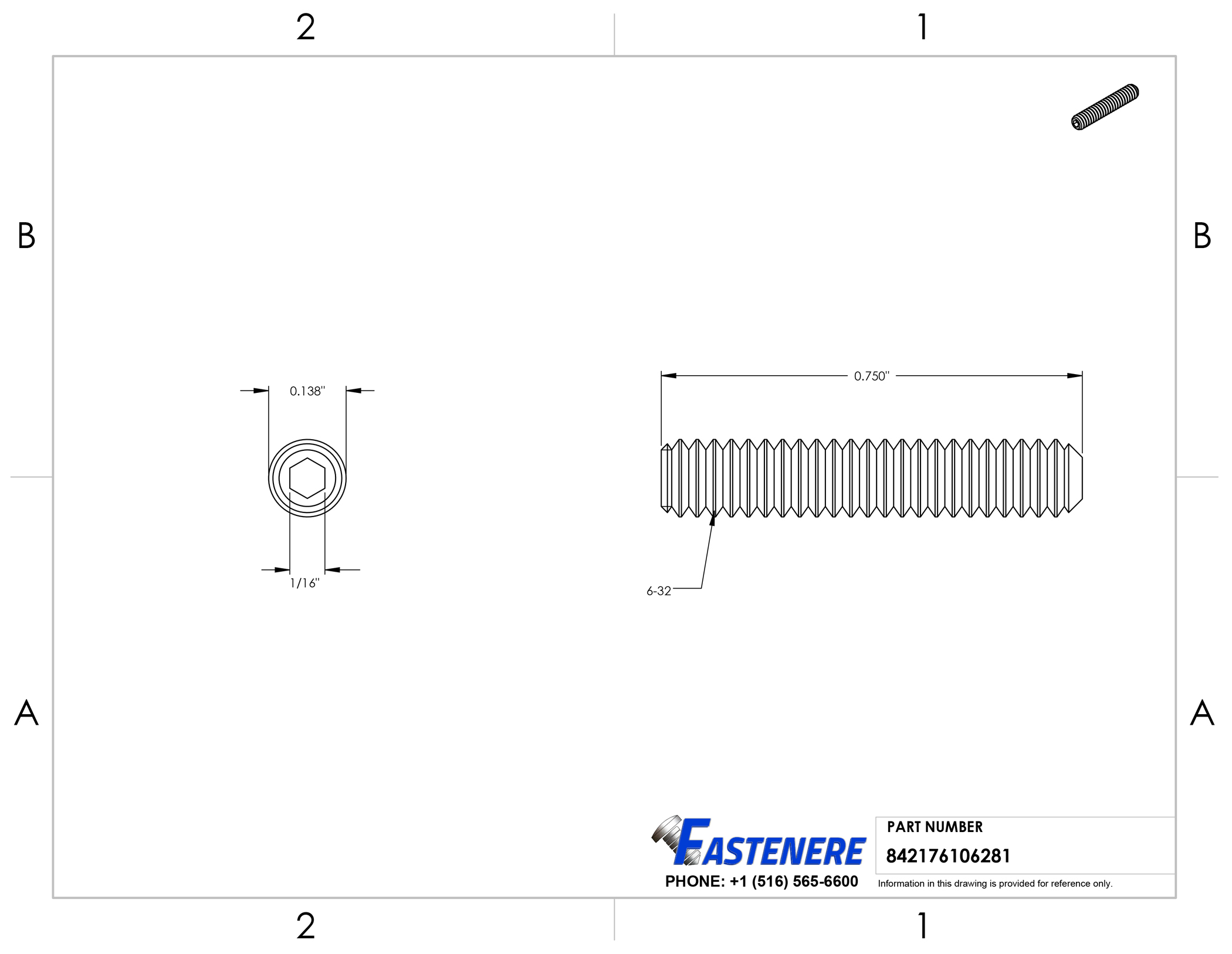6-32-Socket-Set-Screws-Allen-Hex-Drive-Cup-Point-Stainless-Steel-18-8 thumbnail 35
