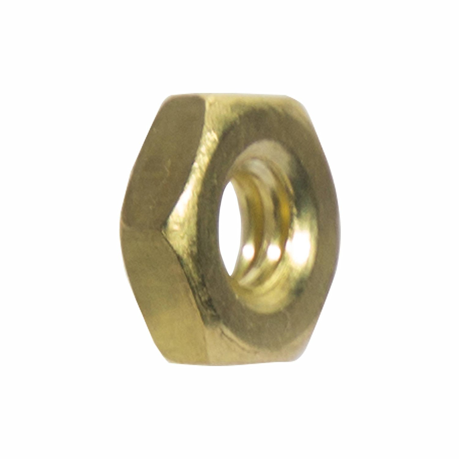 Machine Screw Hex Nuts Solid Brass Commercial Grade 360 All Sizes and Quantities