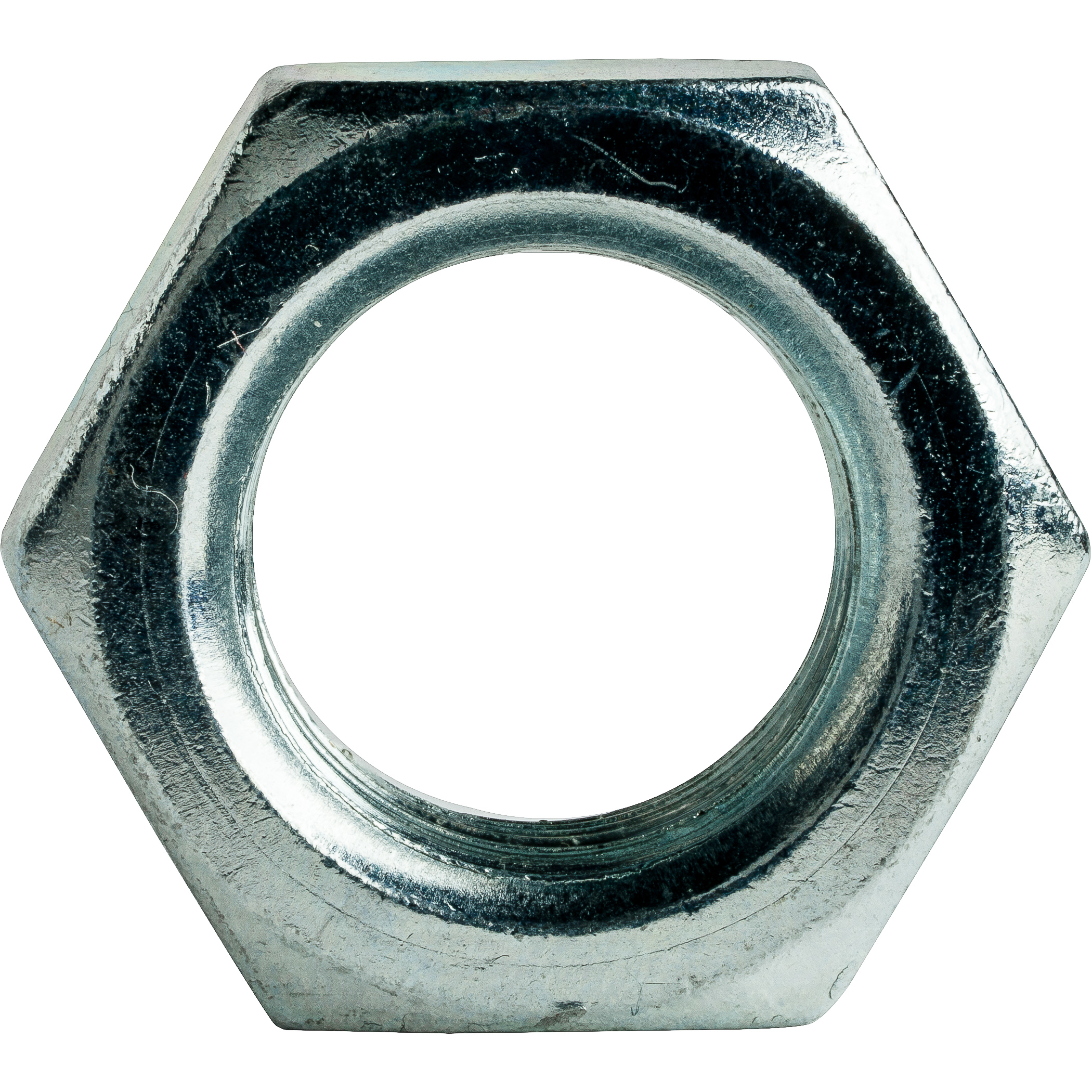 Thin 9//16-12 Hex Jam Nuts Zinc Plated Low Carbon Grade 2 Qty 50
