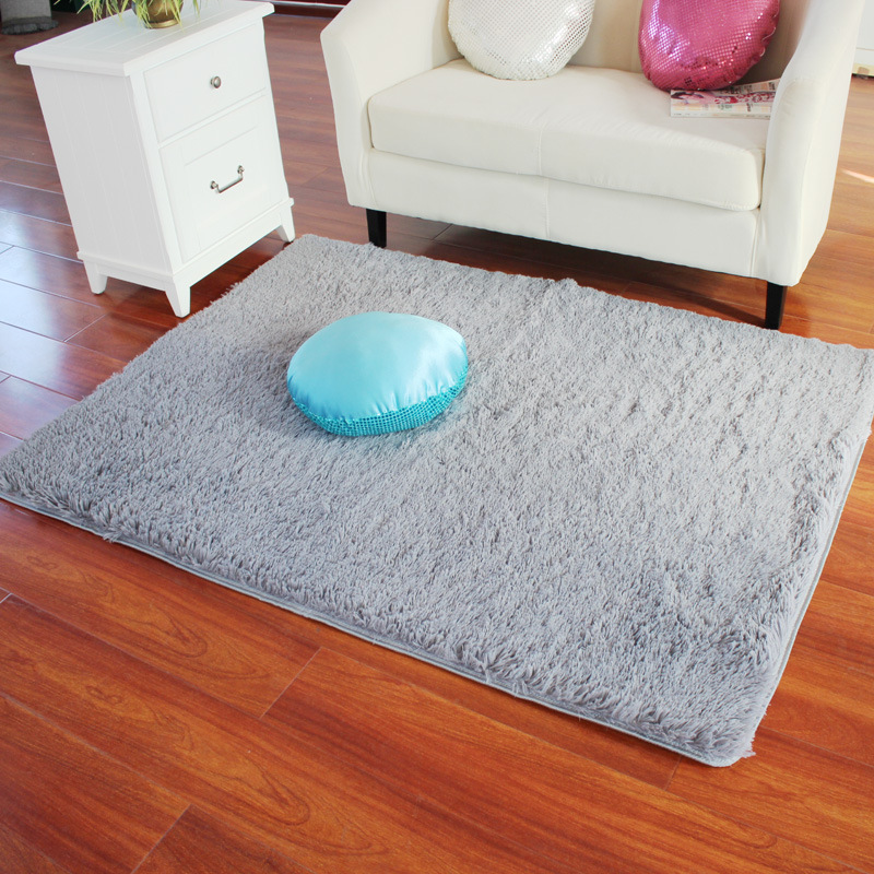 soft bedroom rugs rectangle soft fluffy rug anti skid shaggy study room 13362