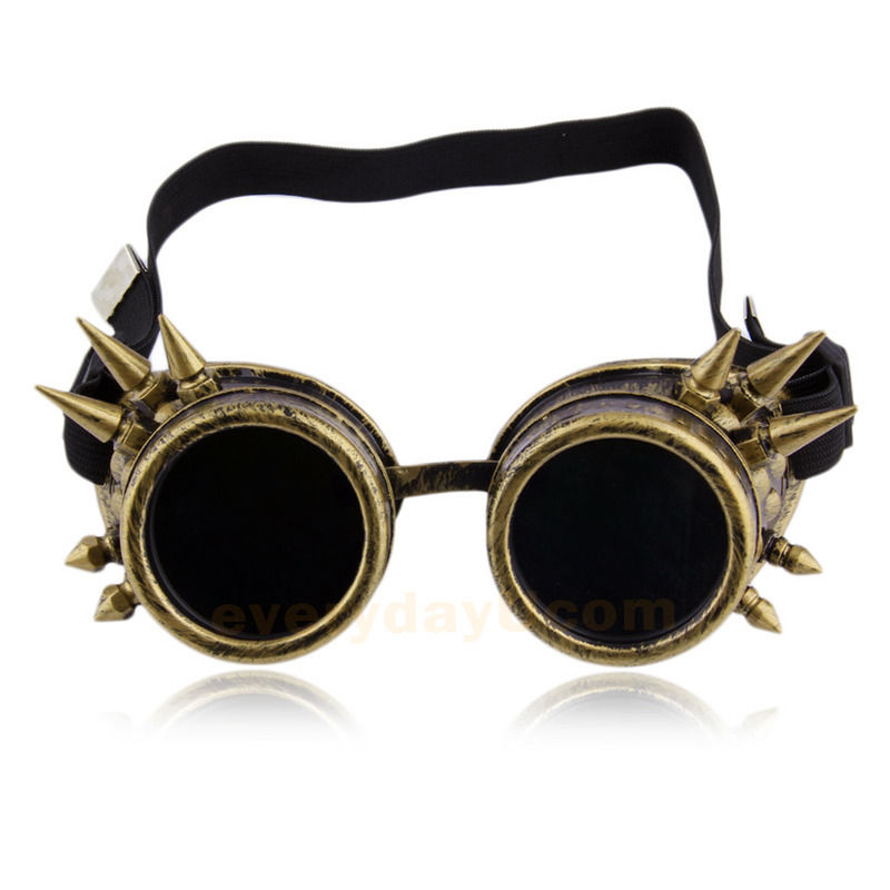 Fashion Vintage Victorian Steampunk Goggle Glasses Welding Cyber Gothic Cosplay | eBay