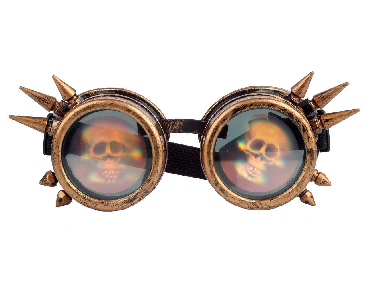 Multicolor Victorian Steampunk Eyewear Goggles Welding Cosplay Vintage Glasses | eBay