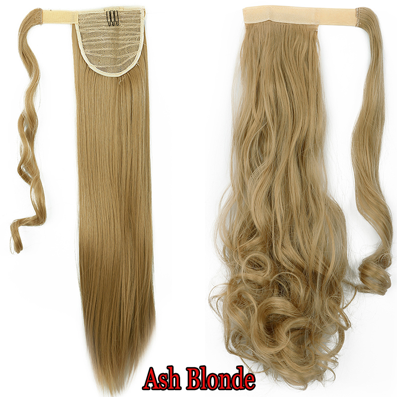 One Piece Wrap Around Ponytail Clip In Hair Extensions Pony Tail
