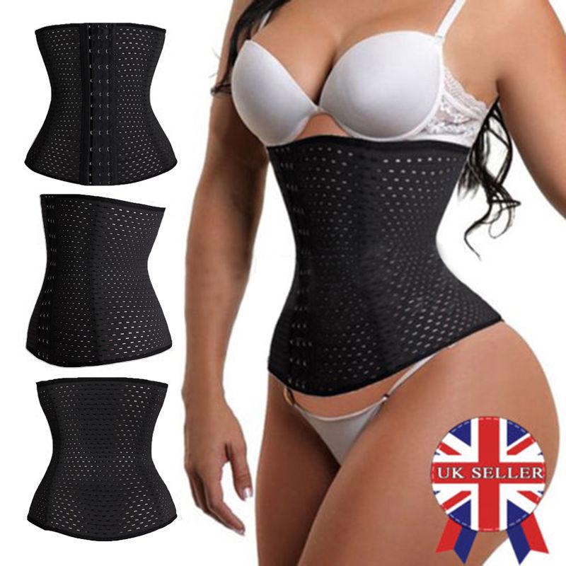 4529f1a6c63 Sport Body Shaper Women Waist Trainer Tummy Cincher Yoga Belt Belly ...