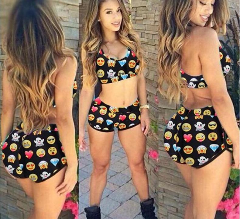 New-Women-Bikini-Set-Swimsuit-Beachwear-Swimwear-push-up-monokini-Bra-Bathing
