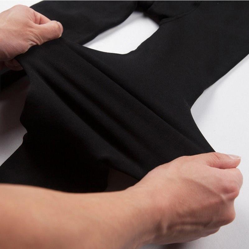Women-Leggings-Winter-Warm-Luster-Pants-Thick-Velvet-Leather-Leggings-Trousers