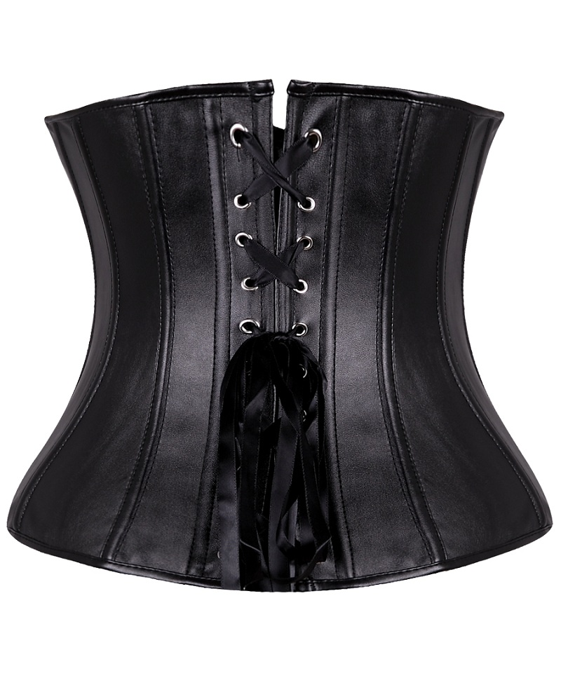 b6460902cb867 Women's Lace Up Corset Bustier Body Shaper Waist Cincher Tops ...