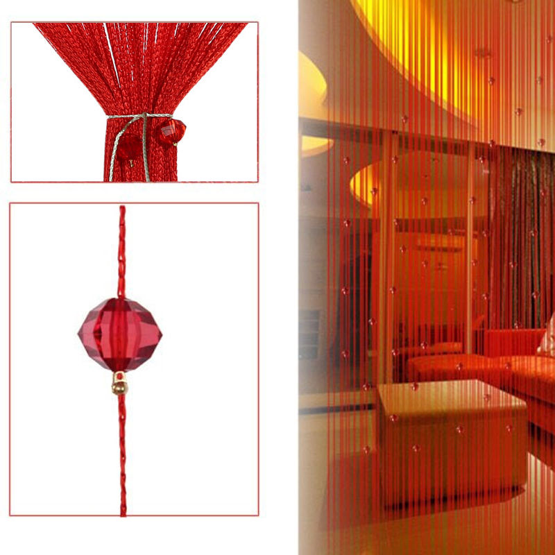 Best String Tassel Curtain Crystal Bead Door Window