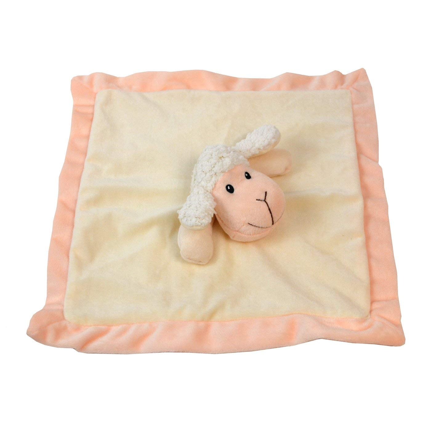 Lovey Security Blanket 12 Inch Square Stuffed Animal Baby Blankie