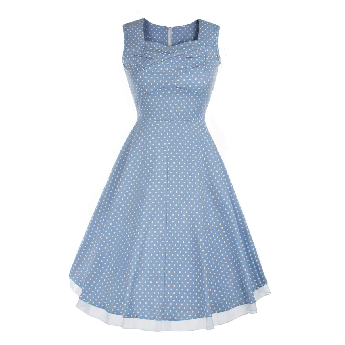 1950s 1960s Women Vintage Swing Dress Pinup Rockabilly Cocktail ...