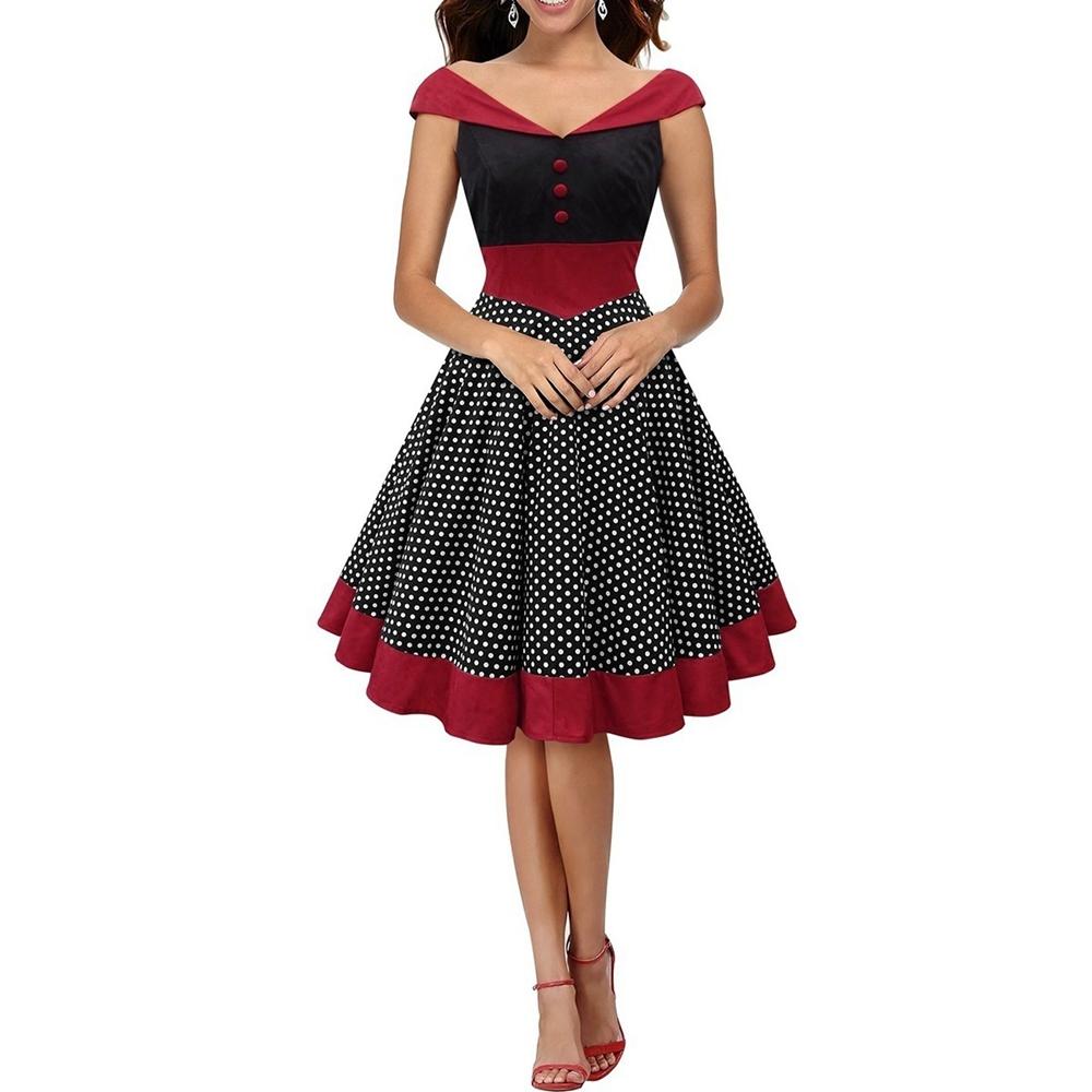 50/'s Cutie Costume 50s Dress Cheap 1950s Housewife Dress 60s 65345