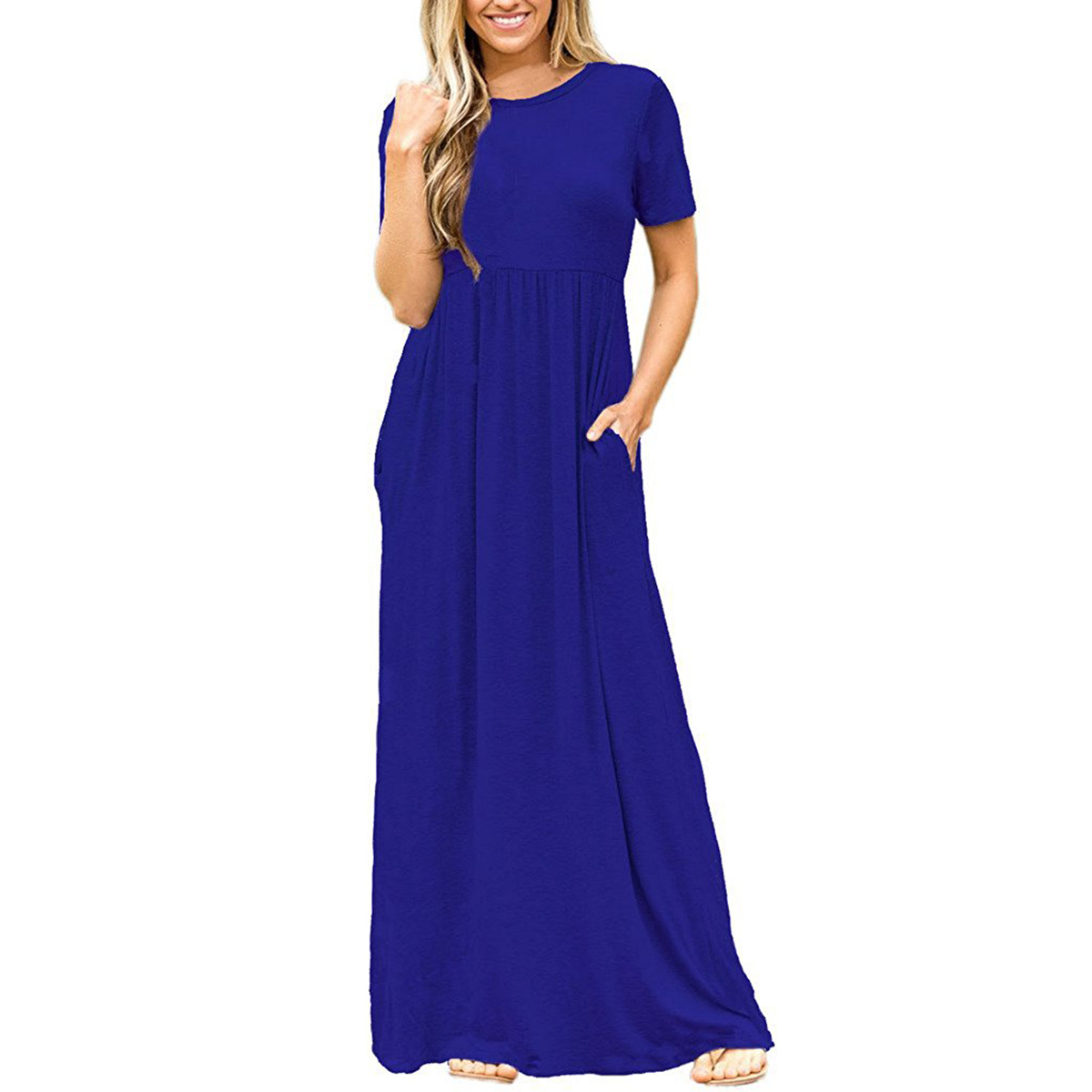 Women Loose Long Maxi Dress Casual Plus Size Oversized ...