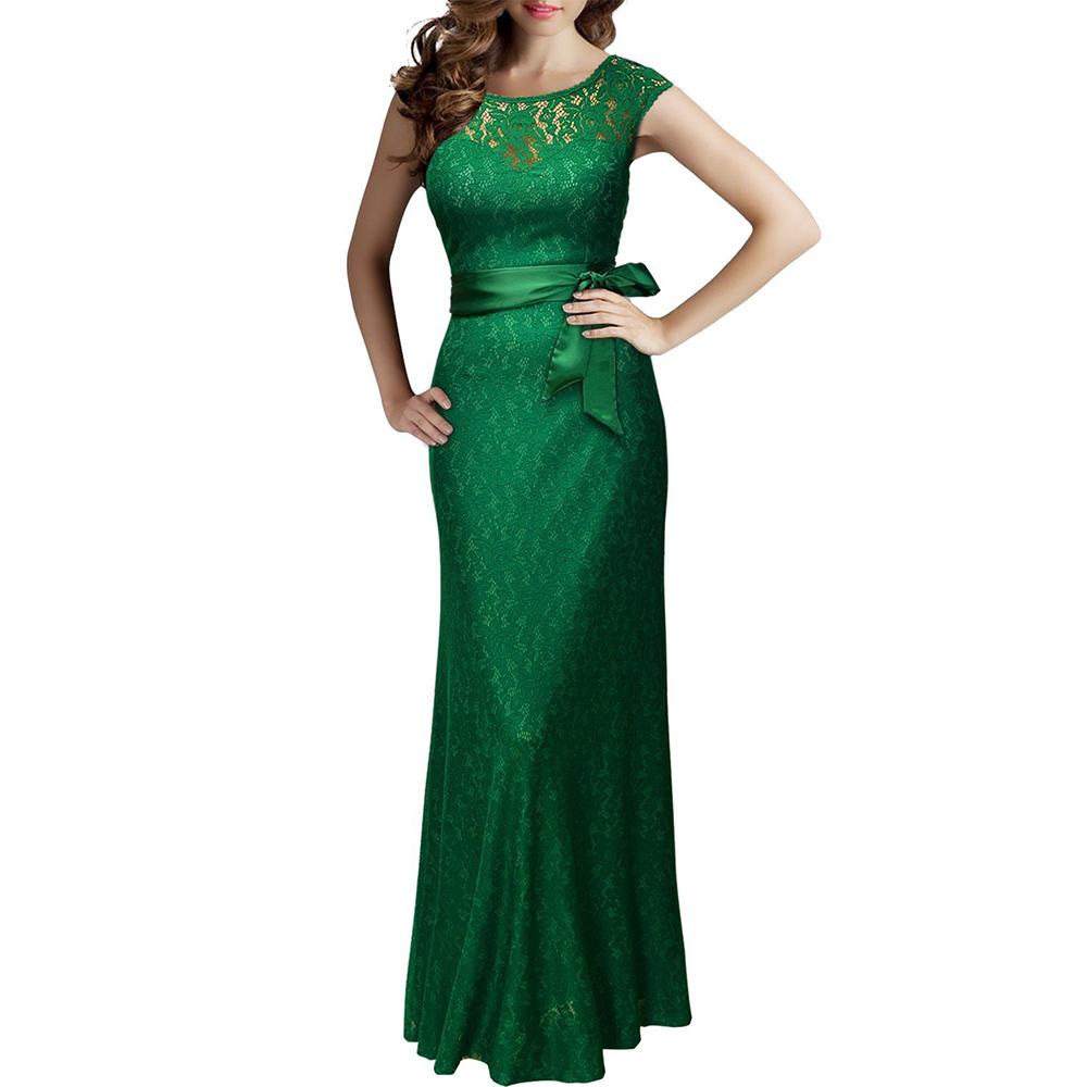 Women-Deep-V-back-Bridesmaid-Maxi-Long-Dress-Formal-Bodycon-Cocktail-Party