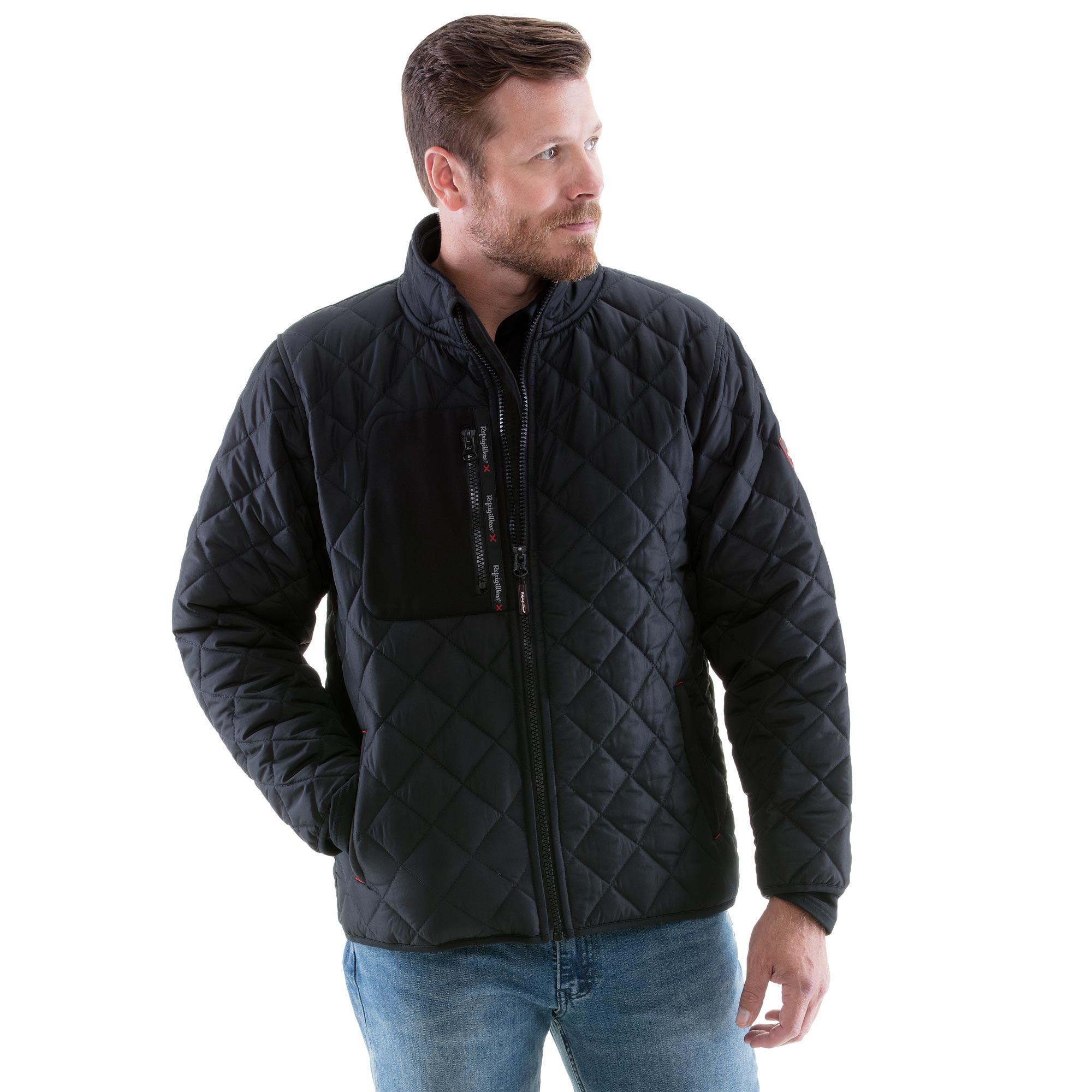U.S Mens Big-Tall Classic Short Bubble Jacket Polo Assn