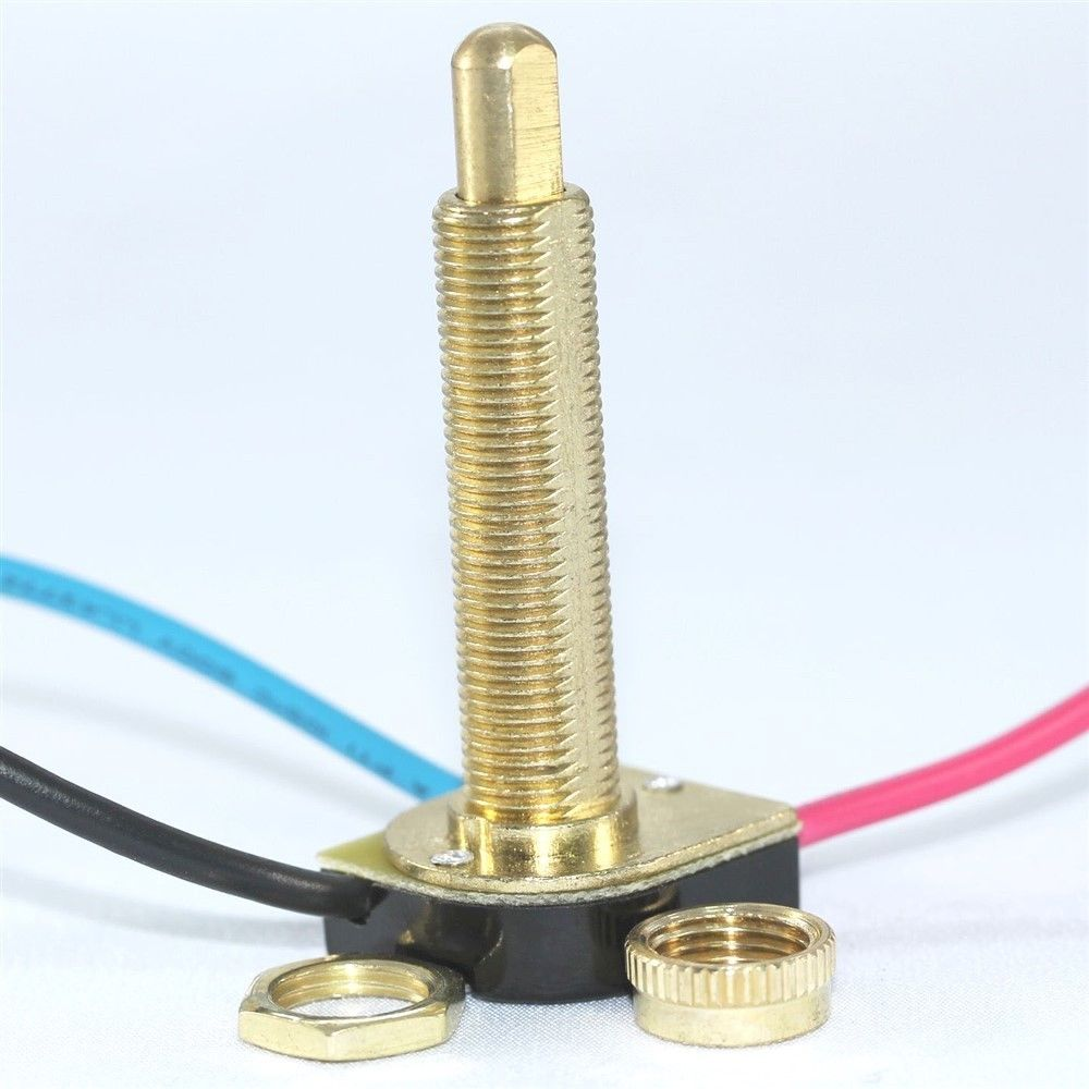 Zing Ear Ze 117m 3 Way Push Button Switch Light Lamp 2 Circuit 6 A