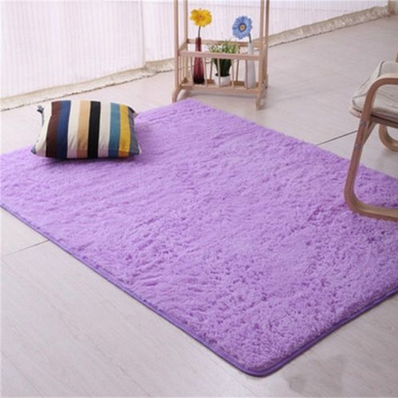 Small Large Pink Rug Cerise Runners Sparkle Modern Thick: Large Medium Small Shaggy Rug Modern Plain Pile Soft Pile
