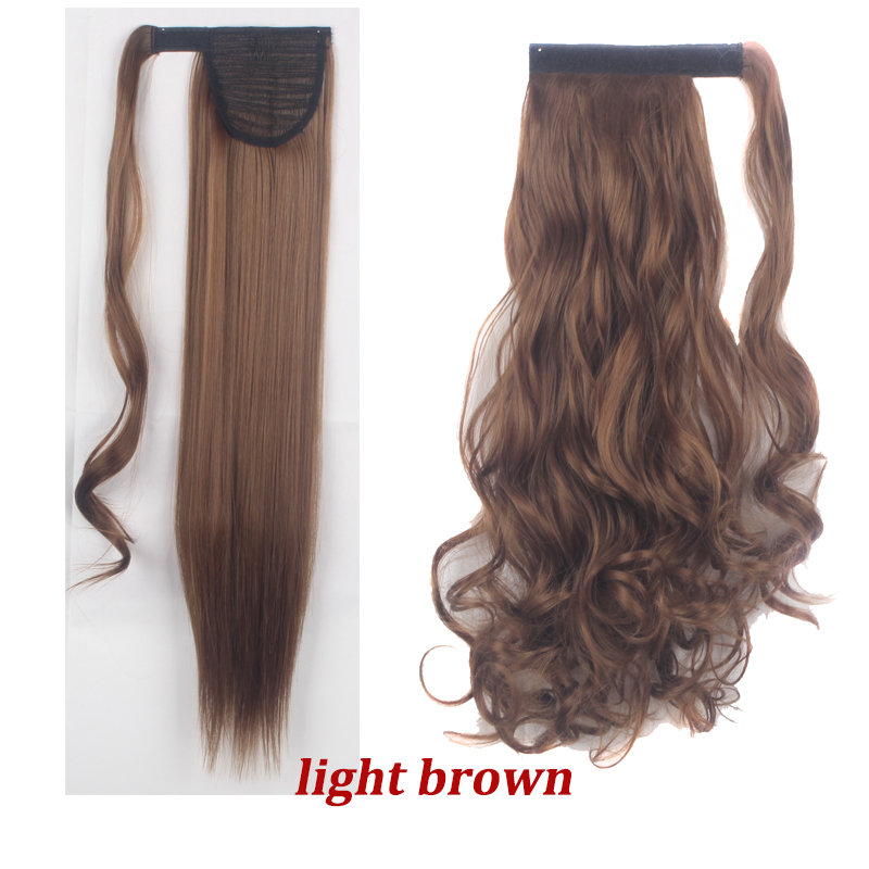 Uk Top Quality Clip In On Hair Extension Wrap Around Pony Tail Real