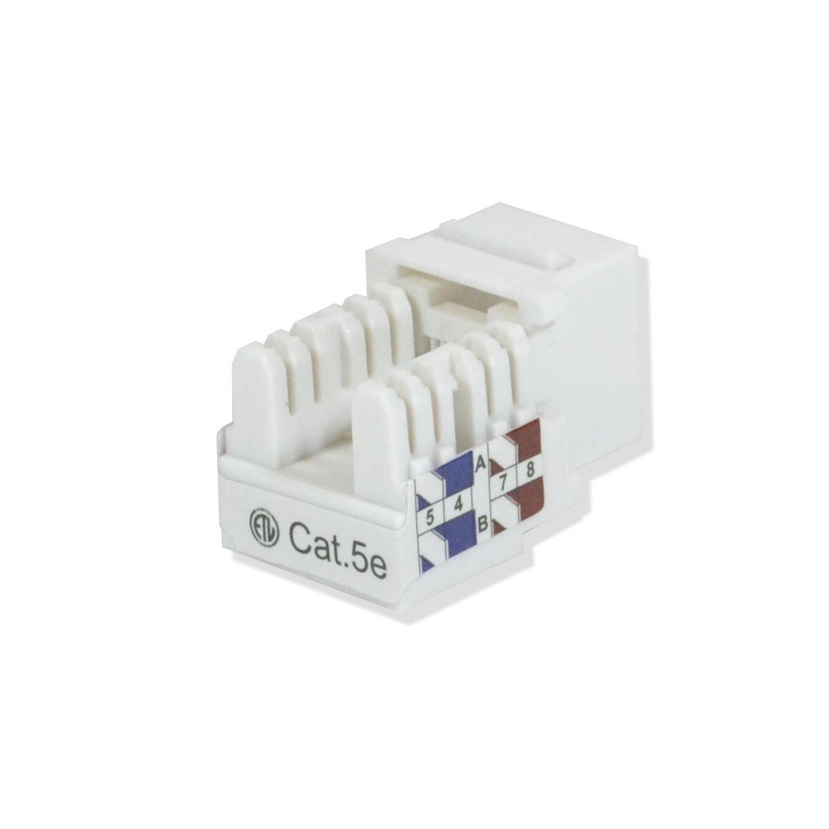 Cat5e Keystone Jack 110 Punch Down Network Ethernet Rj45