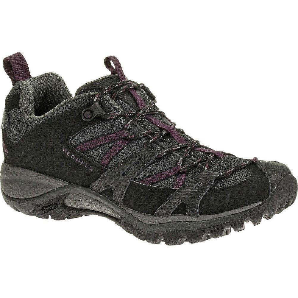 17e4af9899 MERRELL WOMEN'S SIREN Sport 2 Hiking Shoe Black/Purple J46592 ...
