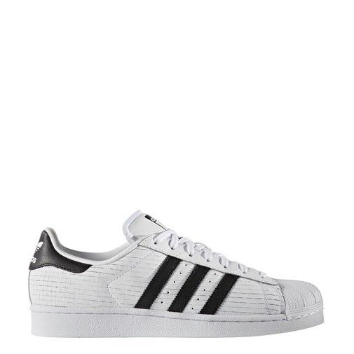 aq8333 männer adidas originals superstar raster weiß - schwarz hat lea