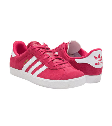 adidas gazelle pink youth
