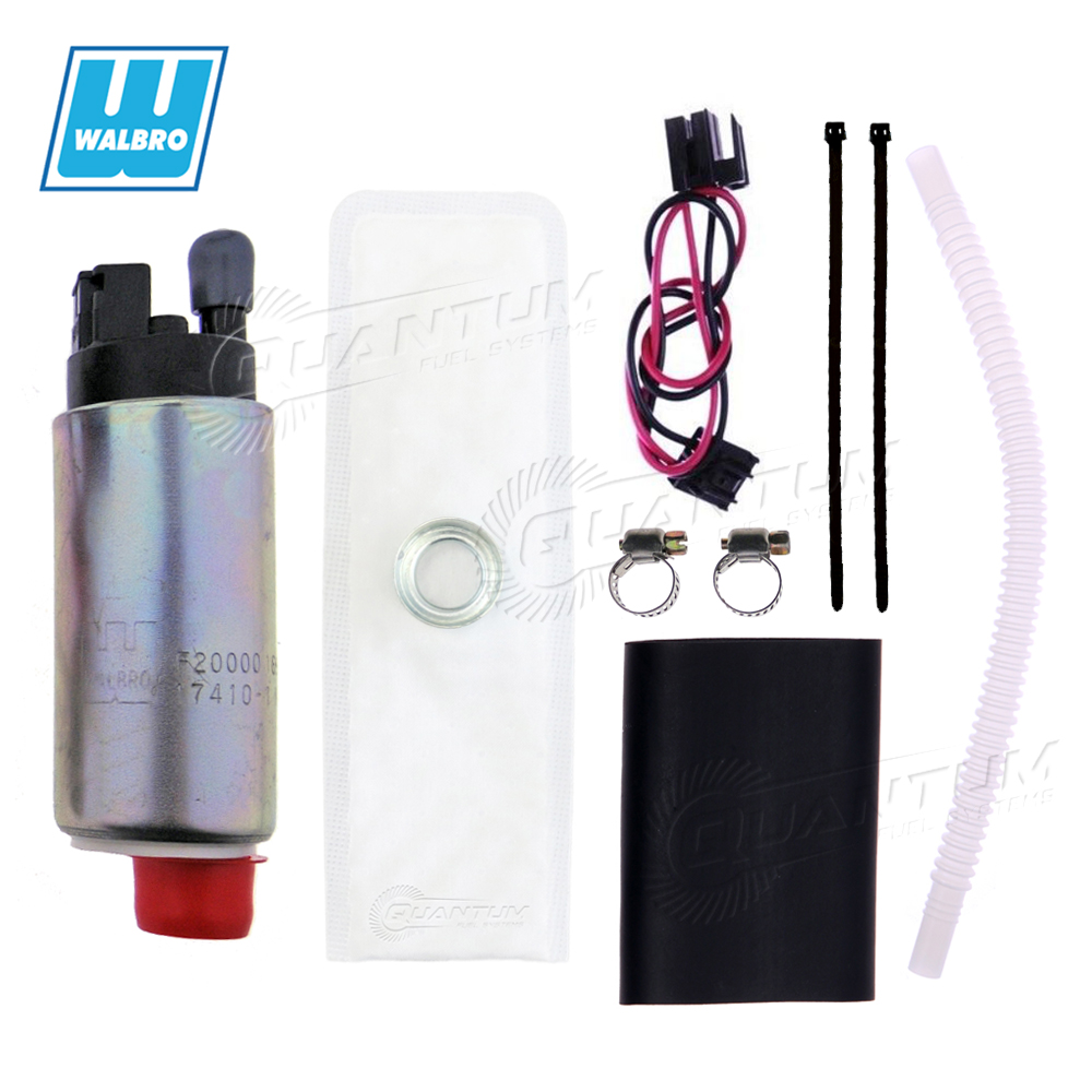 New High Performance 255LPH Electric Fuel pump with Installation kit for aftermarket Replacement for TBI LT1 LT4 LS1 GSS317