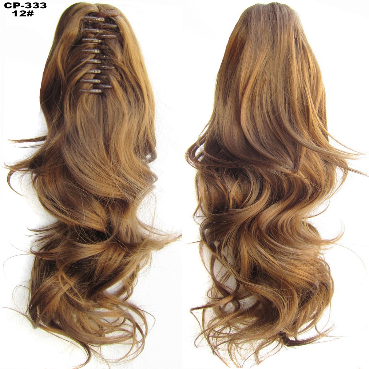 Lady Clip In Ponytail Pony Tail Hair Extensions Claw On Hair Piece