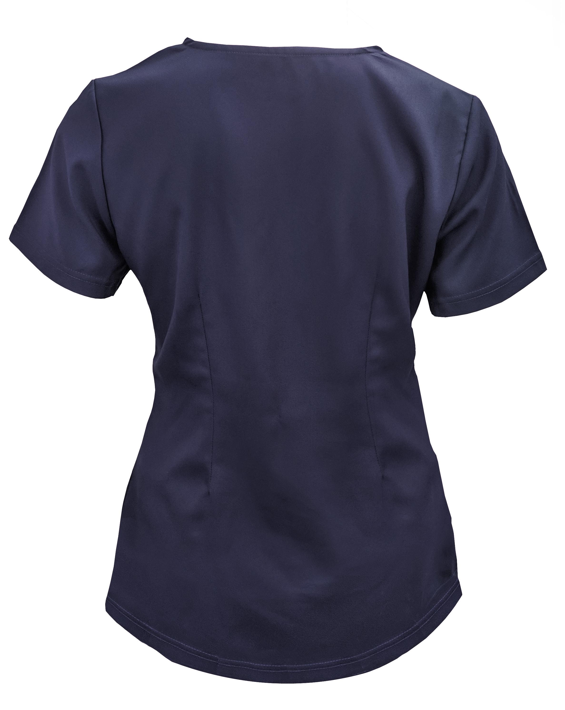 Soulful-Scrubs-Women-039-s-2336-2-Pocket-V-Neck-Scrub-Top miniature 12