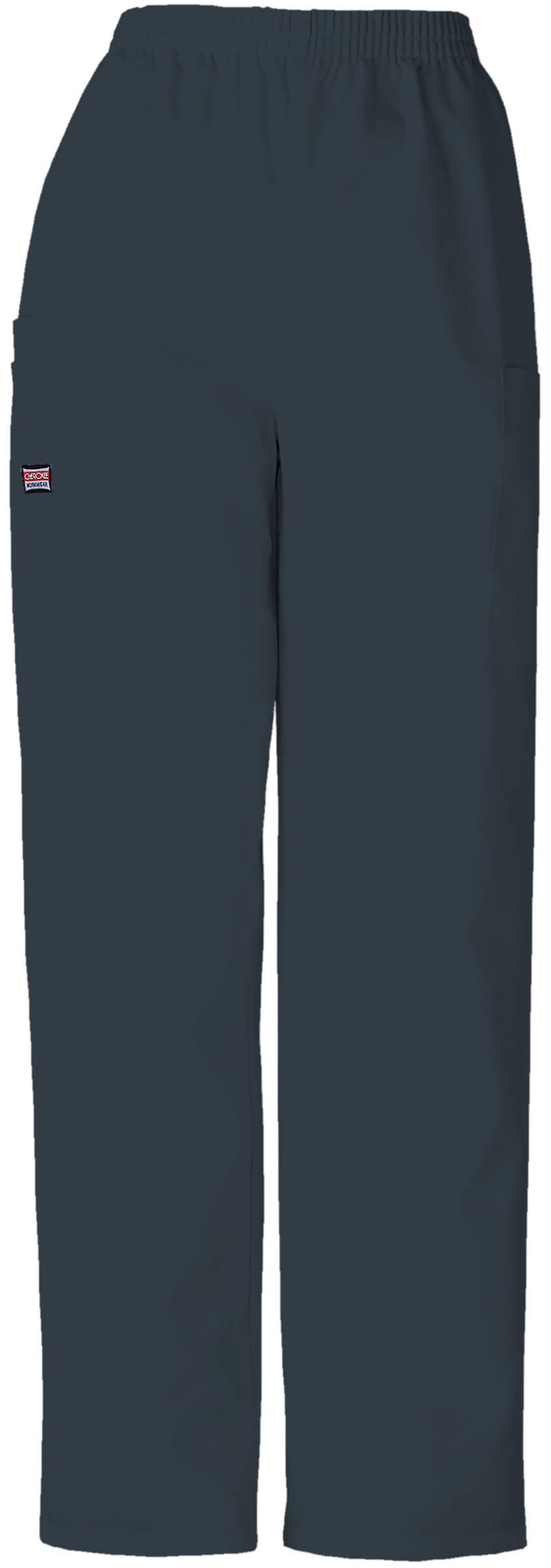 Cherokee Workwear Women 4200 Elastic Waist Scrub Pant Regular/Petite/Tall Pewter