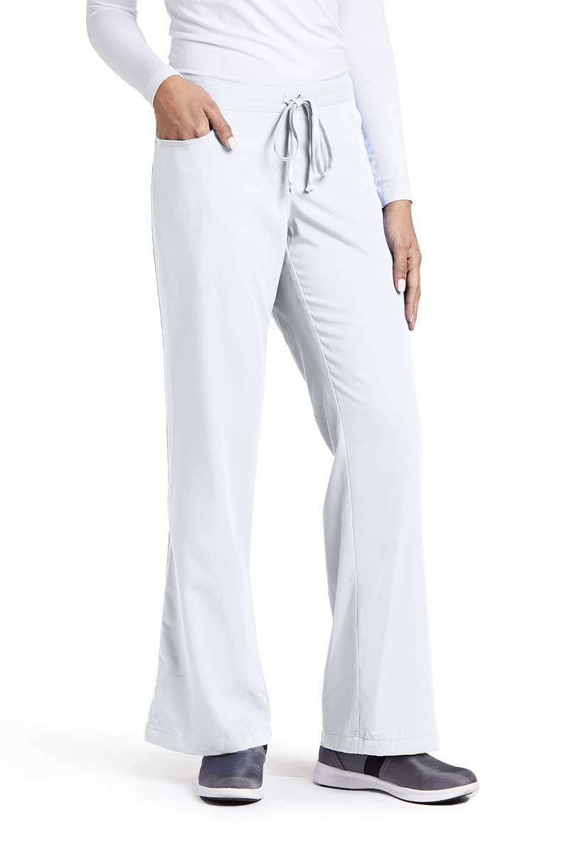 Grey\'s Anatomy 4232 White 5-pocket Tie Front Pant 2xs   eBay
