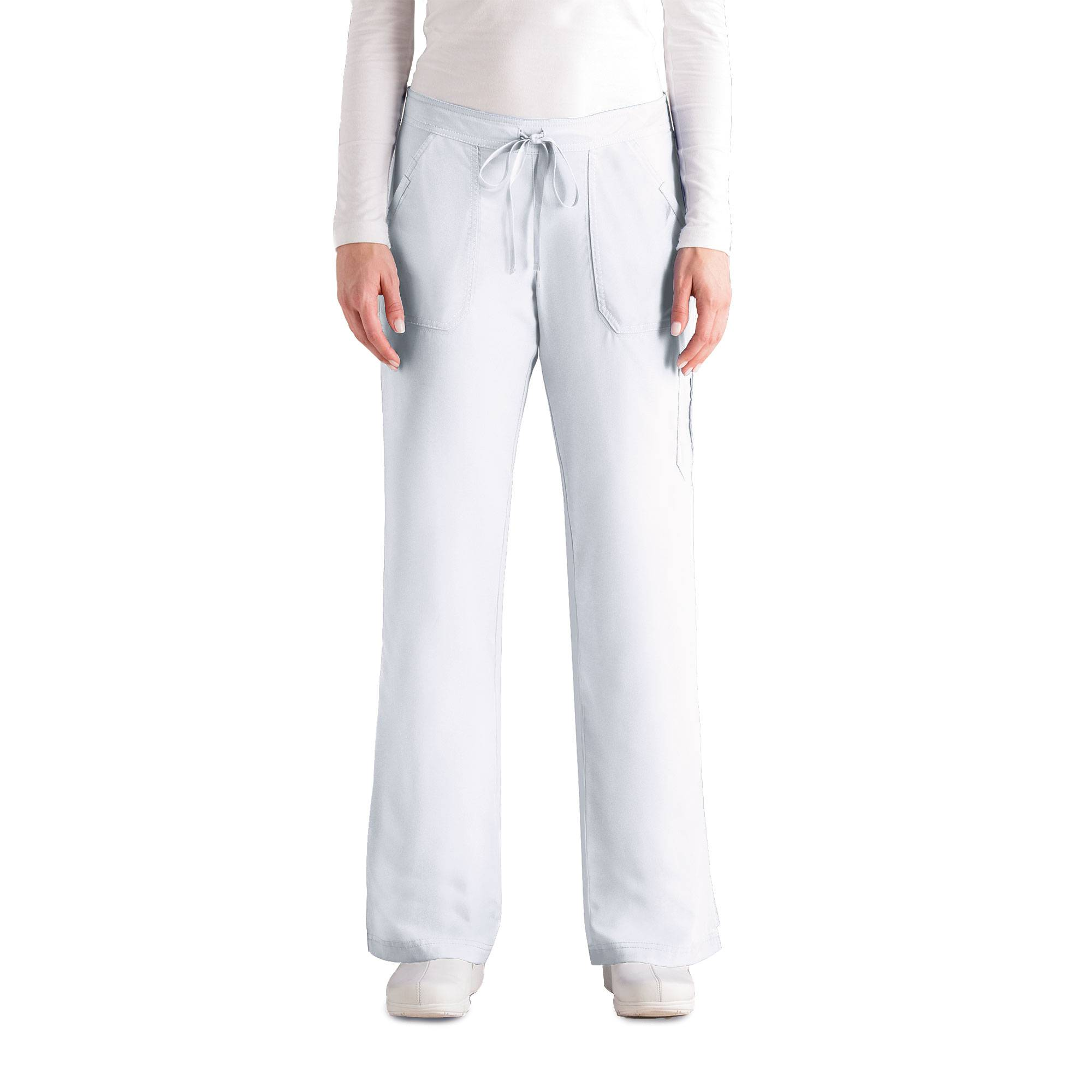 Grey\'s Anatomy 4245 Women\'s Junior Fit 4-pocket Elastic Back Scrub ...