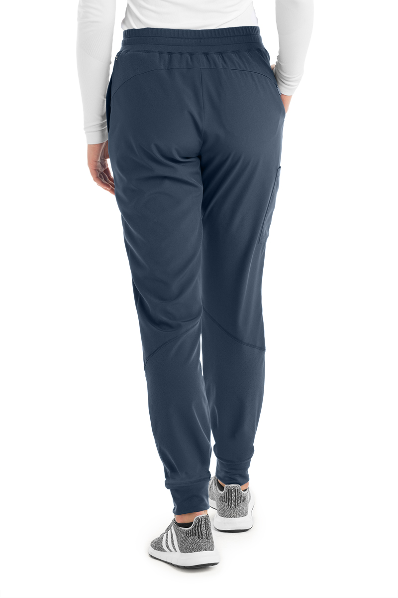 Grey-039-s-Anatomy-Barco-One-Women-039-s-BOP513-Mid-Rise-Perforated-Jogger-Scrub-Pant thumbnail 5