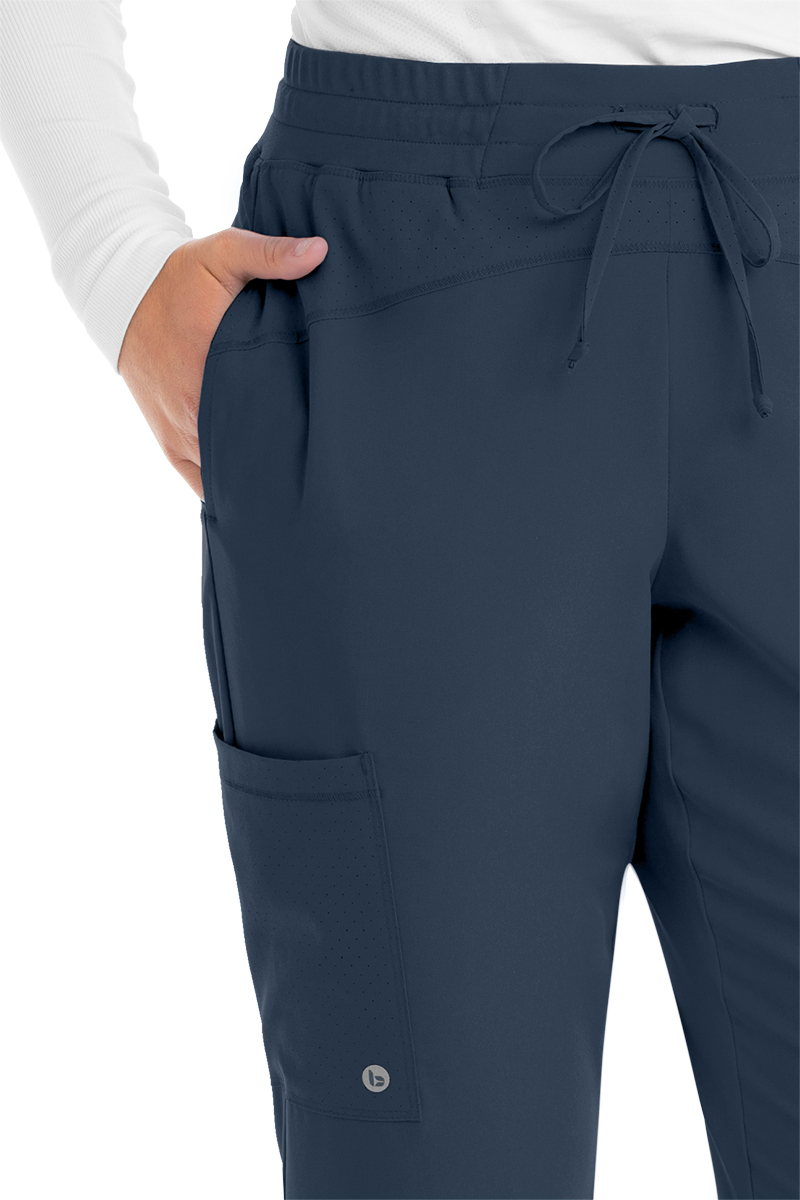 Grey-039-s-Anatomy-Barco-One-Women-039-s-BOP513-Mid-Rise-Perforated-Jogger-Scrub-Pant thumbnail 6