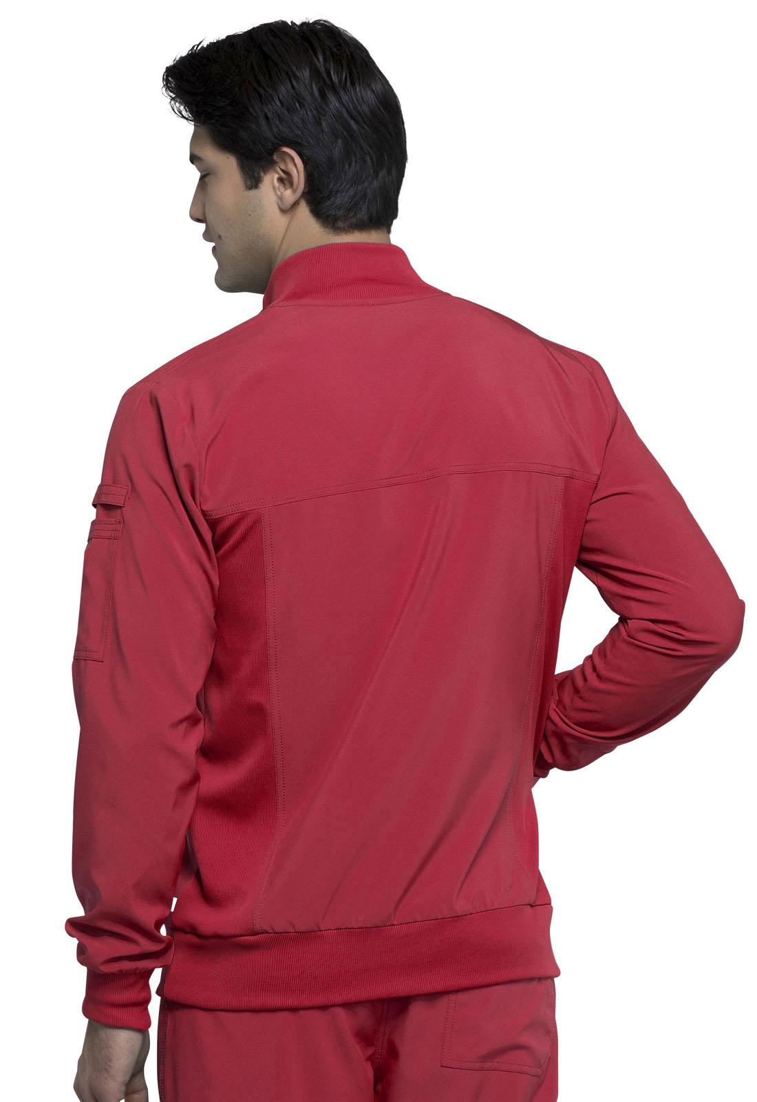 Infinity by Cherokee Men's CK305A Zip Front Scrub Jacket ...