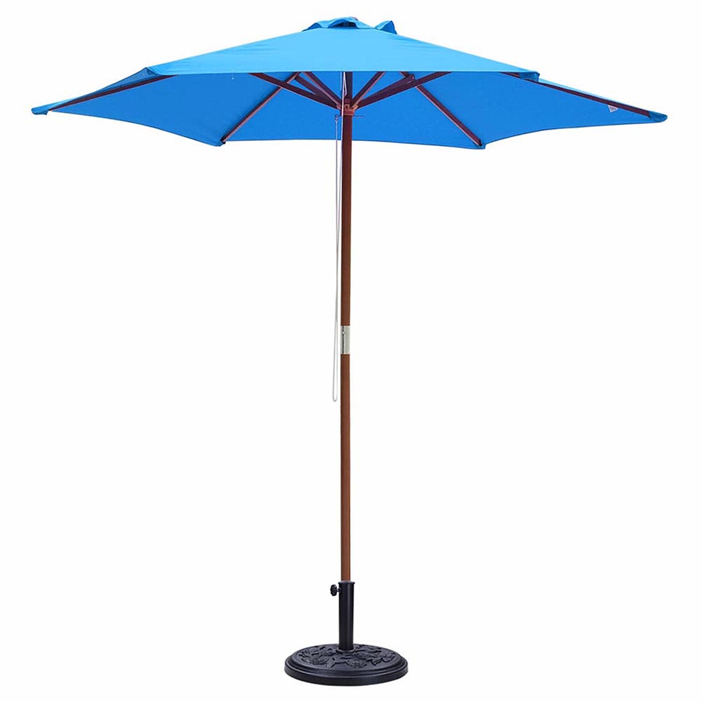 2-5m-2-7m-3m-Round-Square-Garden-Parasol-Shade-Outdoor-Patio-Umbrella-Crank-Tilt thumbnail 45
