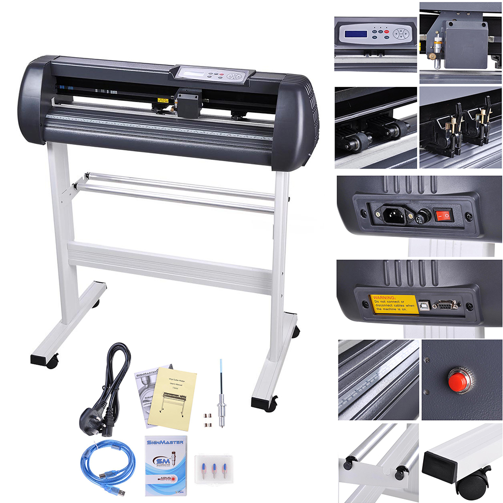 28 vinyl cutter plotter printer sticker cutting business sign making signcut