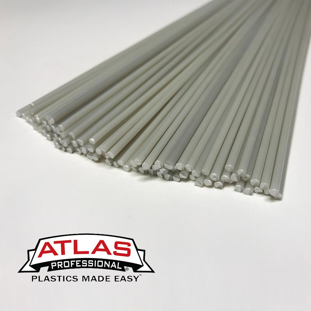 "Natural 1//8/"" ABS Plastic Welding Rod"